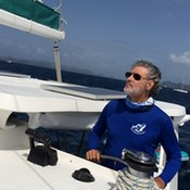 Captain Jay Winters Sailing in BVI